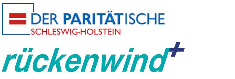 Logo Paritätischer und Rückenwind